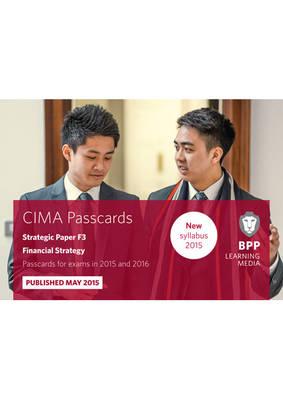CIMA - F3: Financial Strategy: CIMA F3 Financial Strategy Strategic paper F3 (Spiral bound)