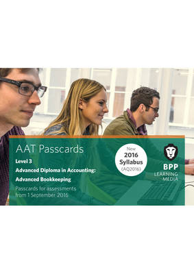 AAT Advanced Bookkeeping: Passcards (Spiral bound)