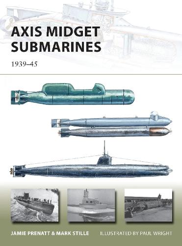 Axis Midget Submarines: 1939-45 - New Vanguard 212 (Paperback)