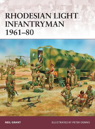 Rhodesian Light Infantryman 1961-80 - Warrior 177 (Paperback)