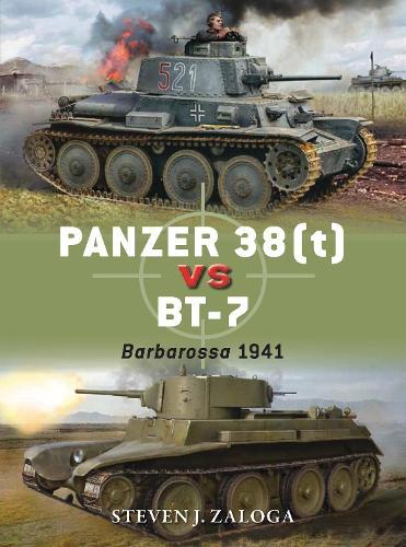 Panzer 38t vs BT-7: Barbarossa 1941 - Duel 78 (Paperback)