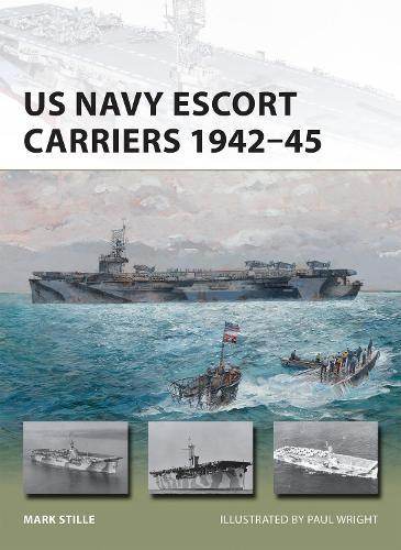 US Navy Escort Carriers 1942-45 - New Vanguard (Paperback)