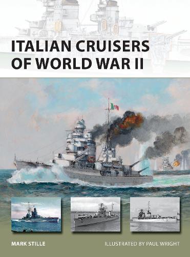 Italian Cruisers of World War II - New Vanguard (Paperback)