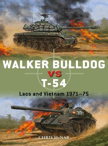 Walker Bulldog vs T-54: Laos and Vietnam 1971-75 - Duel (Paperback)
