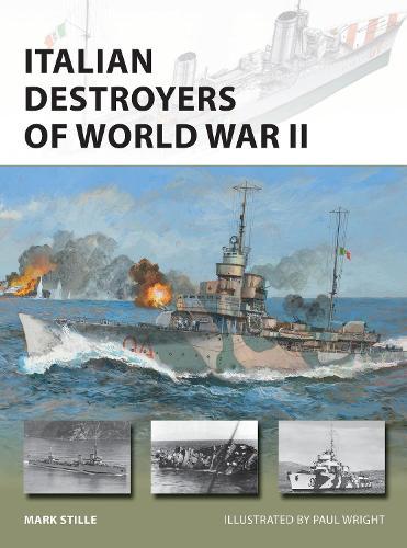 Italian Destroyers of World War II - New Vanguard (Paperback)