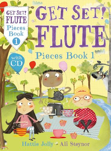 Get Set! Flute Pieces Book 1 with CD