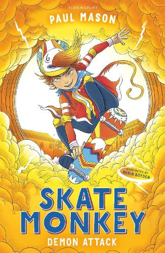 Skate Monkey: Demon Attack - High/Low (Paperback)