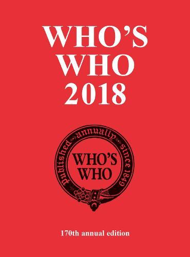 Who's Who 2018 - Who's Who (Hardback)