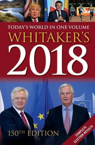 Whitaker's 2018 - Whitaker's (Hardback)