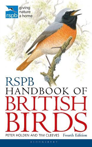 Rspb Handbook Of British Birds By Tim Cleeves Peter Holden