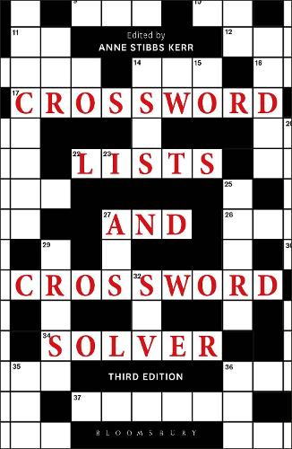 Crossword Lists And Crossword Solver By Anne Stibbs Kerr Waterstones