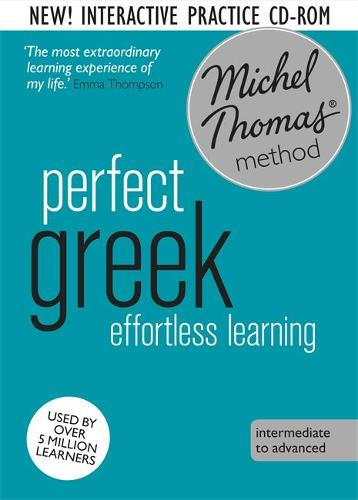 Perfect Greek Intermediate Course: Learn Greek with the Michel Thomas Method (CD-Audio)