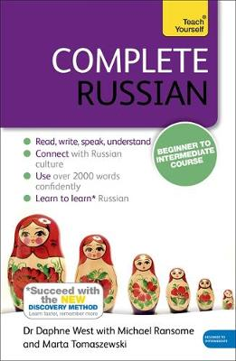 Complete Russian Beginner to Intermediate Course: (Book only) Learn to read, write, speak and understand a new language with Teach Yourself (Paperback)