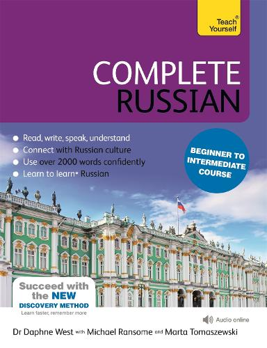 Complete Russian Beginner to Intermediate Course: (Book and audio support)