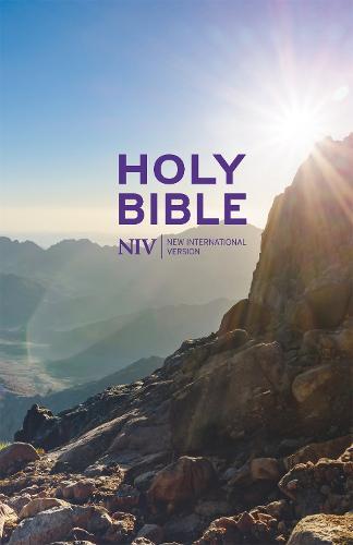NIV Thinline Value Hardback Bible - New International Version (Hardback)