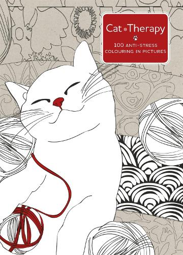 Cat Therapy A Mindful Colouring Book For Adults Paperback