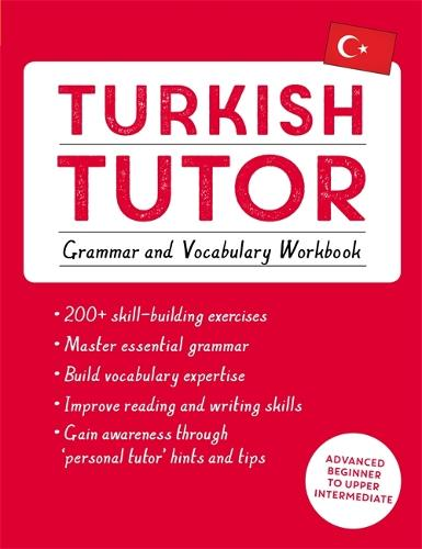 Turkish Tutor: Grammar and Vocabulary Workbook (Learn Turkish with Teach Yourself): Advanced beginner to upper intermediate course (Paperback)