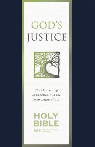 NIV God's Justice Bible: Soft-tone - New International Version (Paperback)