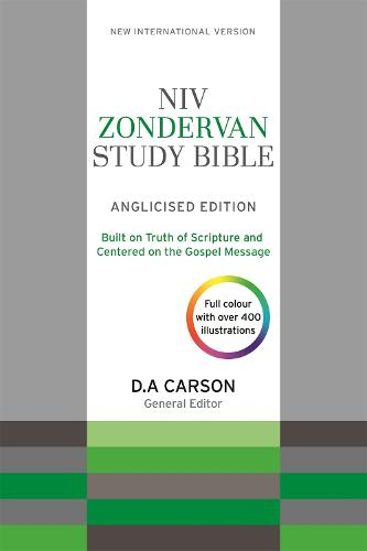 NIV Zondervan Study Bible (Anglicised): Leather (Hardback)