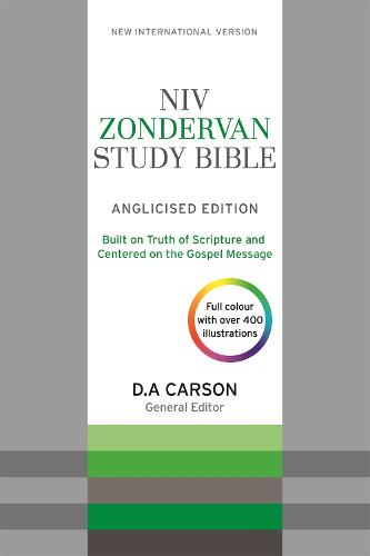NIV Zondervan Study Bible (Anglicised): Leather (Paperback)