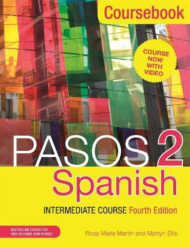 Cover Pasos 2  Spanish Intermediate Course: Coursebook (Paperback)