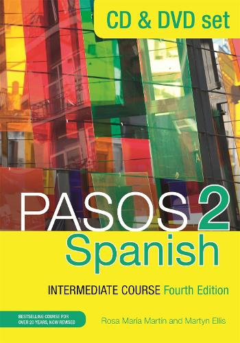 Cover Pasos 2  Spanish Intermediate Course: CD & DVD Pack (CD-Audio)