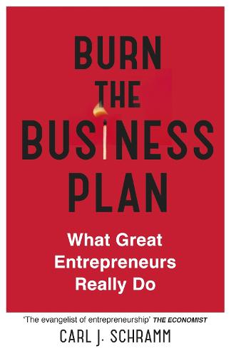 Burn The Business Plan: What Great Entrepreneurs Really Do (Hardback)