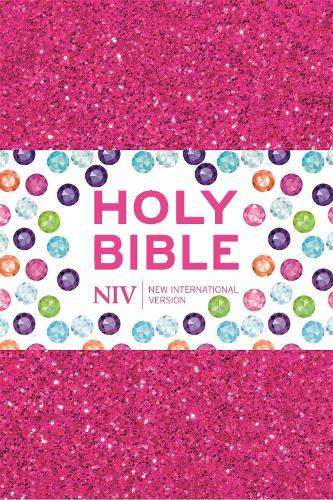 NIV Ruby Pocket Bible: Pink Glitter (Paperback)