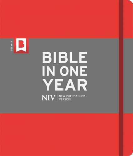 NIV Journalling Bible in One Year: Red (Hardback)