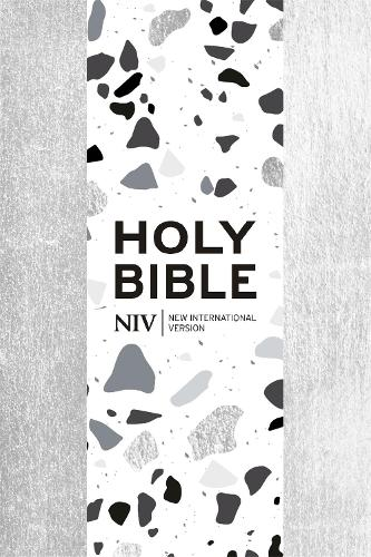 NIV Pocket Silver Soft-tone Bible with Zip (Paperback)