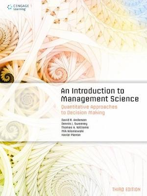An Introduction to Management Science: Quantitative Approaches to Decision Making (Paperback)