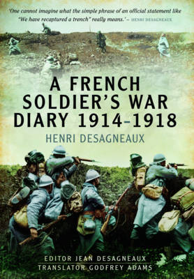 A French Soldier's War Diary 1914-1918 (Hardback)
