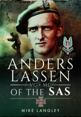Anders Lassen VC, MC of the SAS (Hardback)
