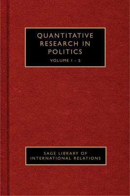 Quantitative Research in Political Science - Sage Library of Political Science (Hardback)