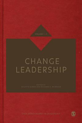Change Leadership - Sage Benchmarks in Leadership (Hardback)