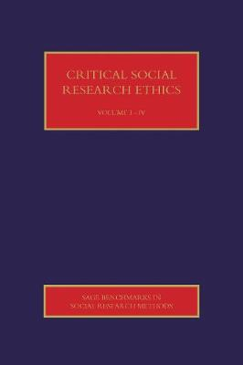 Critical Social Research Ethics, 4v (Hardback)