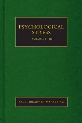 Psychological Stress - SAGE Library in Mental Health (Hardback)