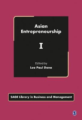 Asian Entrepreneurship - Sage Library in Business and Management (Hardback)