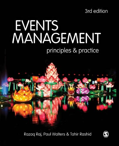 Events Management: Principles and Practice (Paperback)