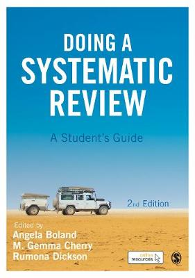 Doing a Systematic Review: A Student's Guide (Hardback)