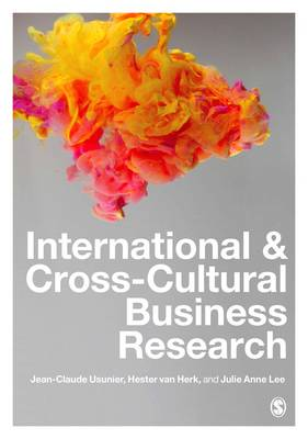 International and Cross-Cultural Business Research (Hardback)