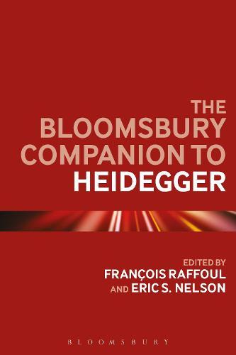 The Bloomsbury Companion to Heidegger - Bloomsbury Companions (Paperback)