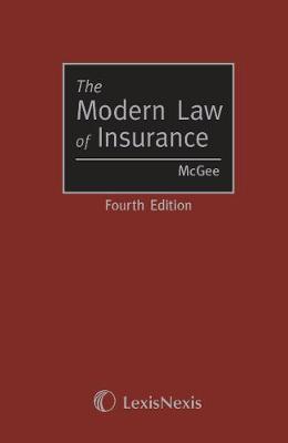 McGee: The Modern Law of Insurance (Hardback)