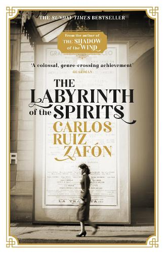 The Labyrinth of the Spirits (Paperback)
