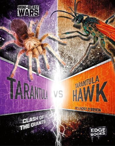 Tarantula vs Tarantula Hawk: Clash of the Giants - Edge Books: Mini-Beast Wars (Paperback)