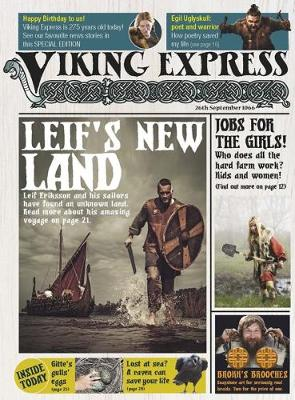 The Viking Express - Raintree Perspectives: Newspapers from History (Hardback)
