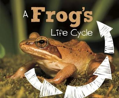 A Frog's Life Cycle - Pebble Plus: Explore Life Cycles (Hardback)