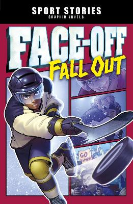 Faceoff Fall Out - Sport Stories Graphic Novels (Paperback)