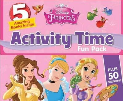 Disney Princess Activity Time Fun Pack (Paperback)