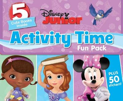 Disney Junior Activity Time Fun Pack (Paperback)